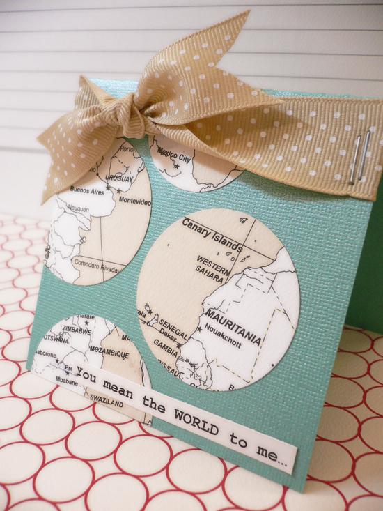 Map card