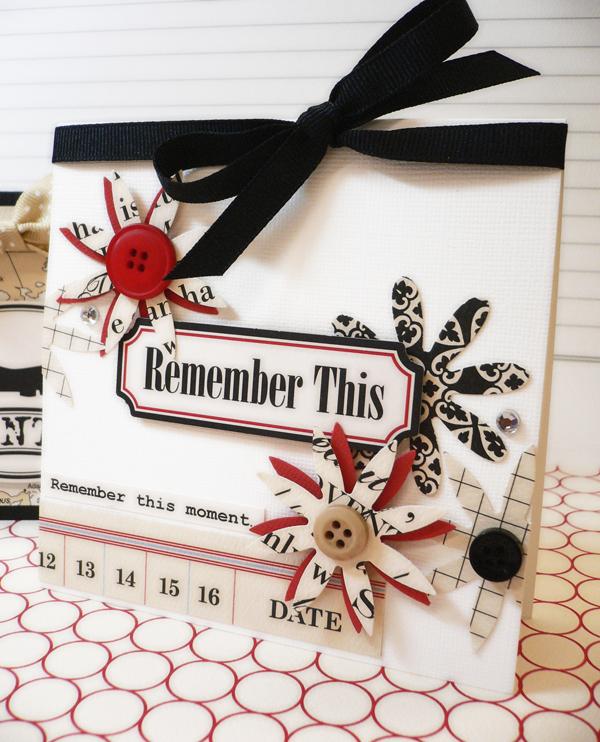 White flower card 2