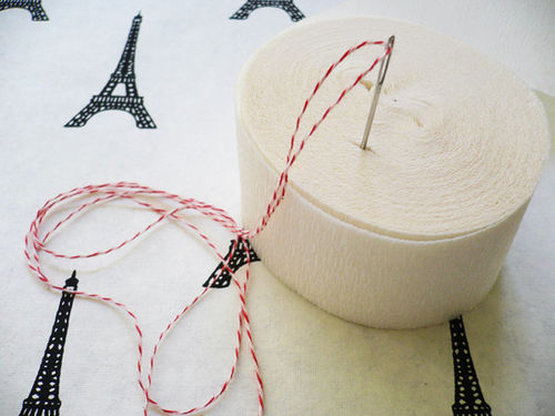 Crepe Paper Trimming