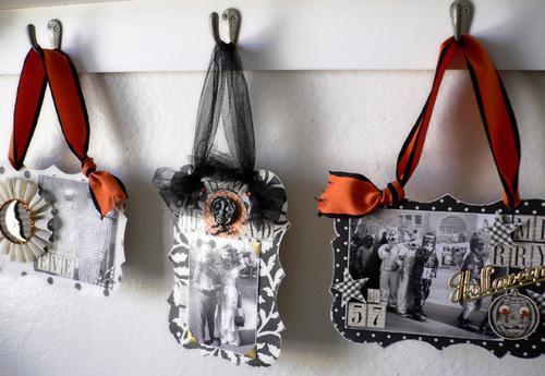 Merry Halloween Hangers